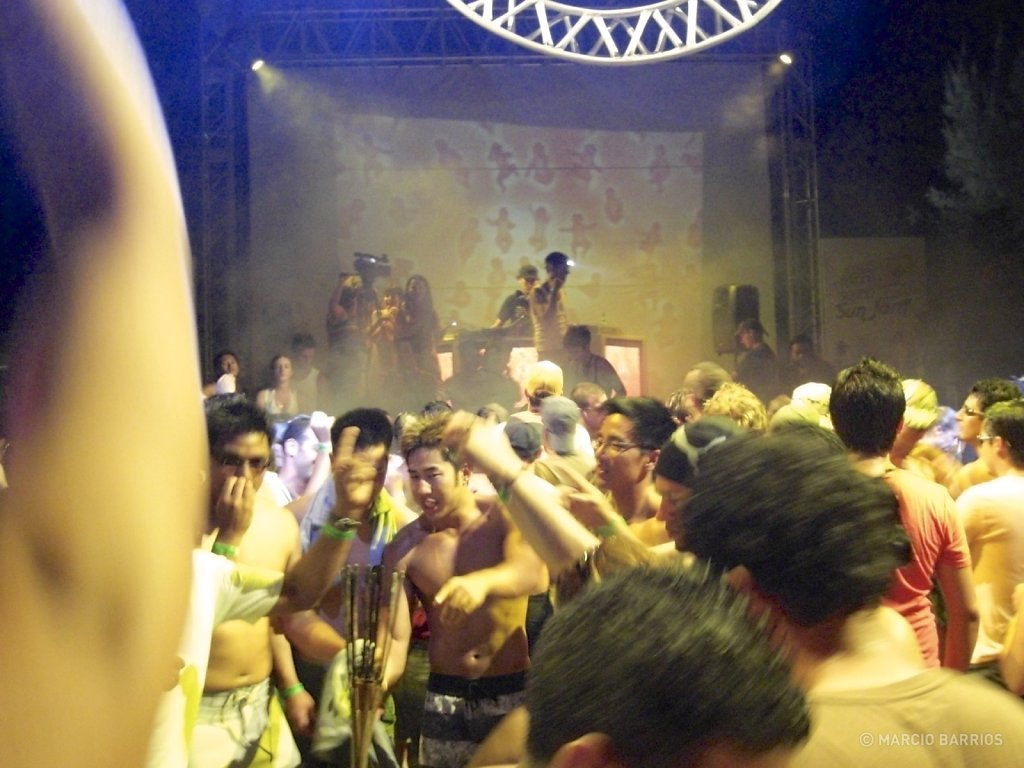Sunjam music festival in Water Cay