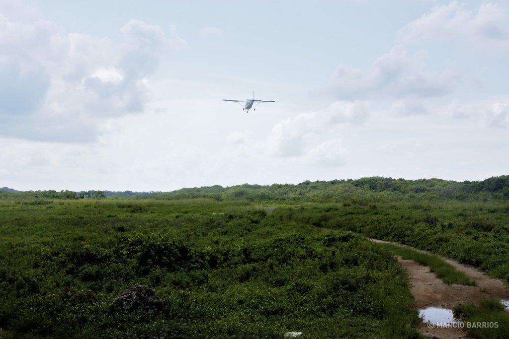 View of northern Utila