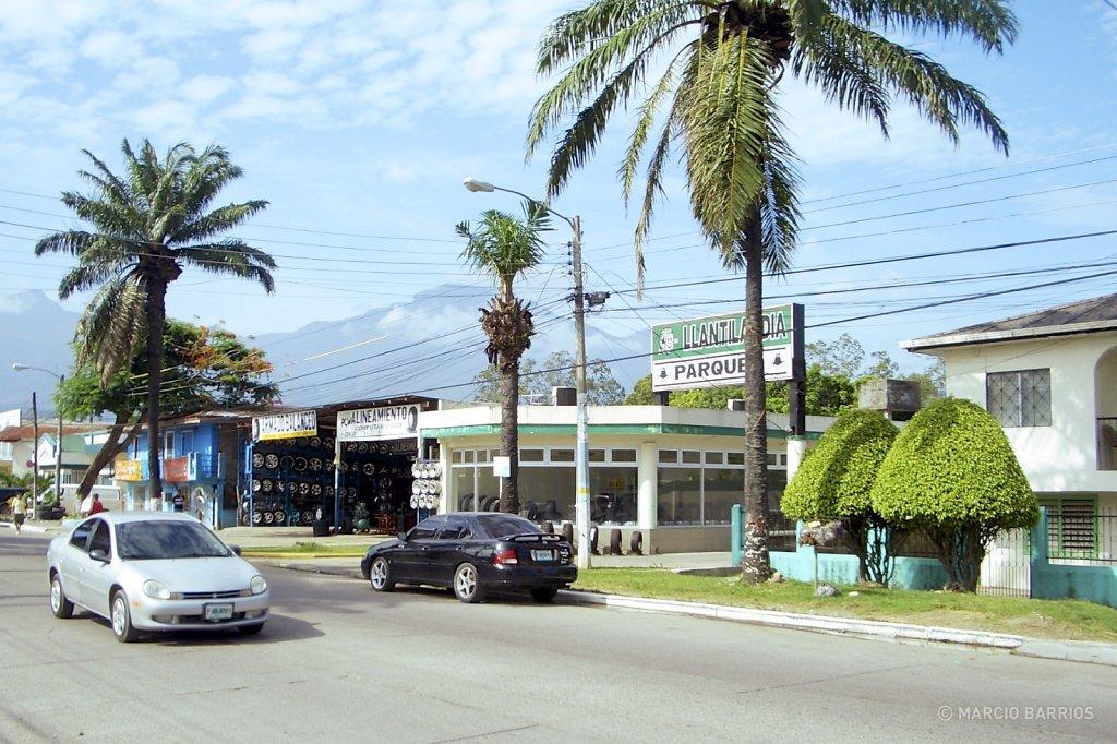 View of La Ceiba