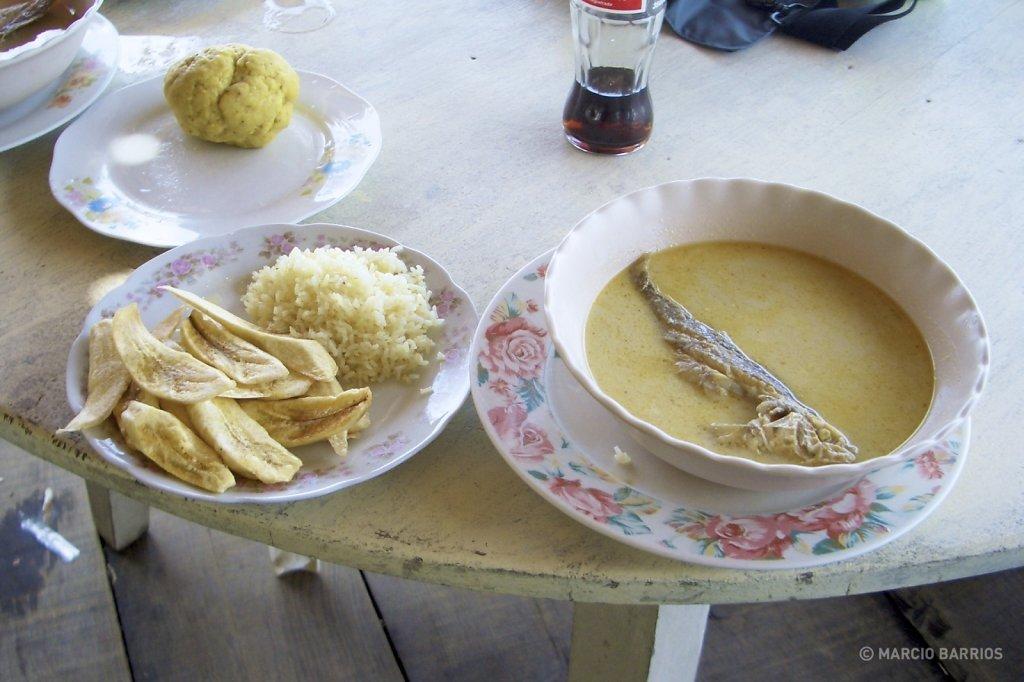 Machuca soup, Corozal