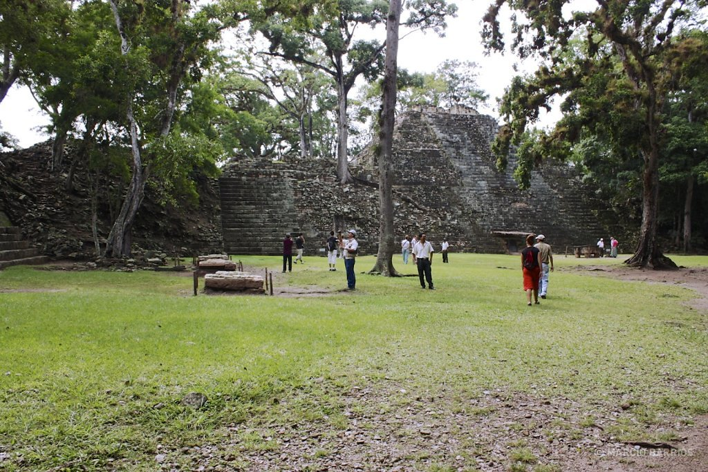 Mayan ruins of Copán