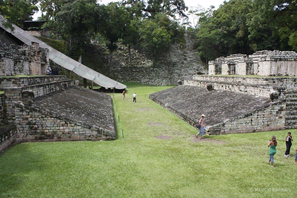 Ballcourt of Copán